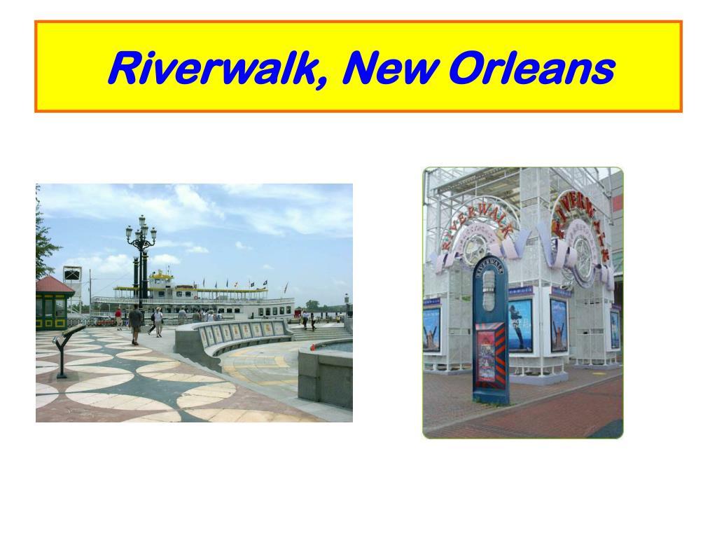 Riverwalk, New Orleans