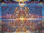 esotericism as a way of life