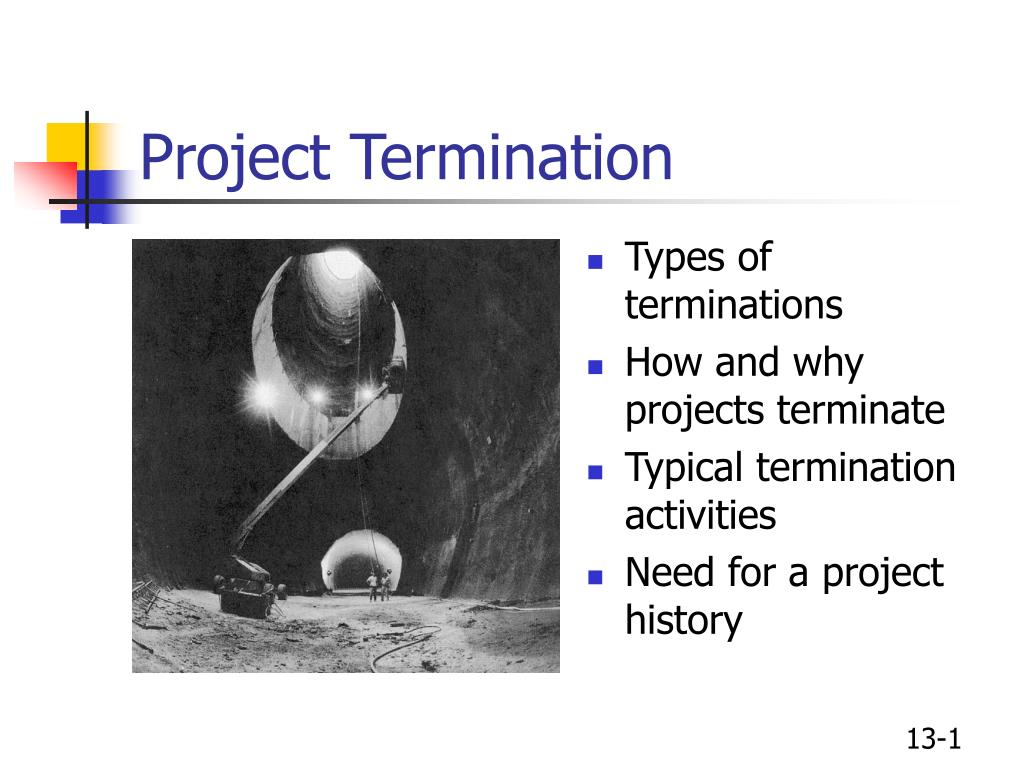 project termination l.