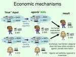 economic mechanisms