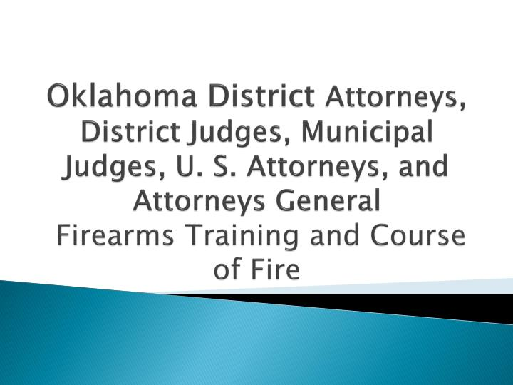 Oklahoma District