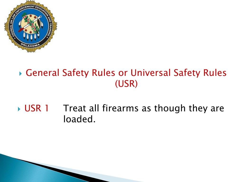 General Safety Rules or Universal Safety Rules (USR)