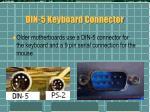 din 5 keyboard connector