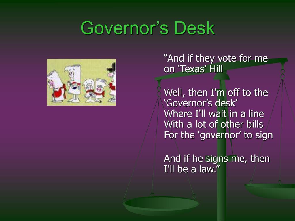 Governor's Desk