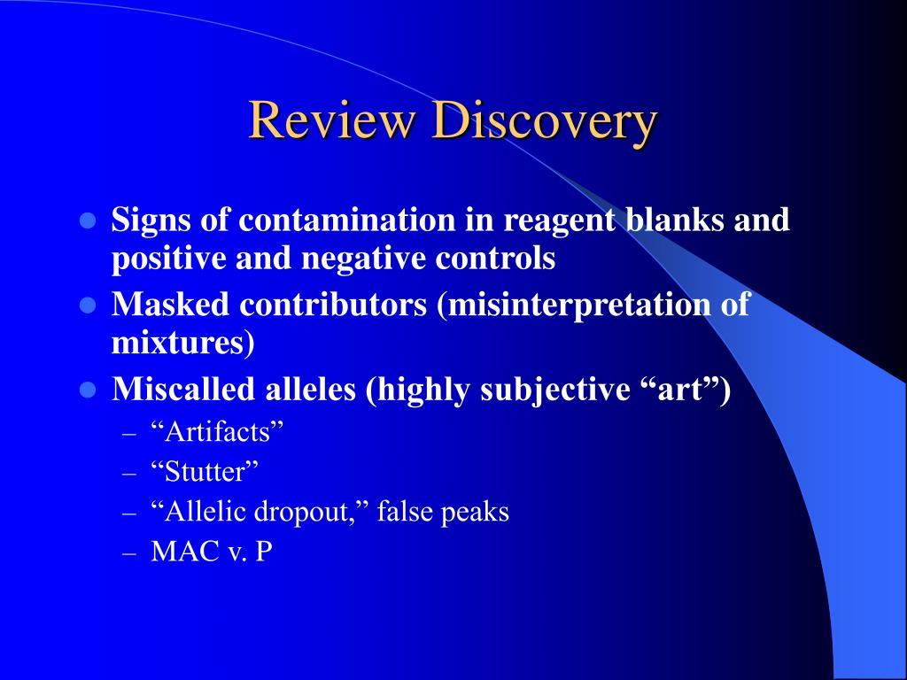 Review Discovery