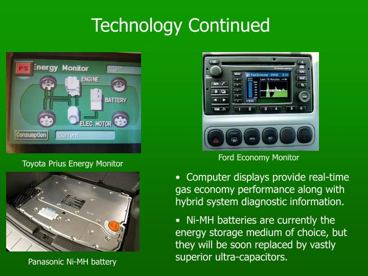 Technology Continued