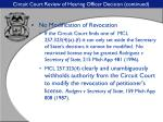circuit court review of hearing officer decision continued30