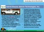 hybrid electric vehicle technologies inc