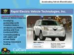 rapid electric vehicle technologies inc