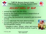 advantages of map