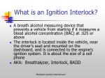 what is an ignition interlock