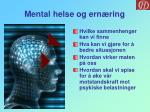 mental helse og ern ring