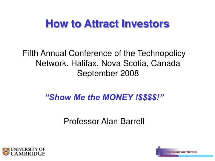 how to attract investors n.