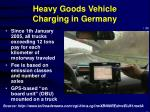 heavy goods vehicle charging in germany