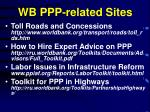 wb ppp related sites
