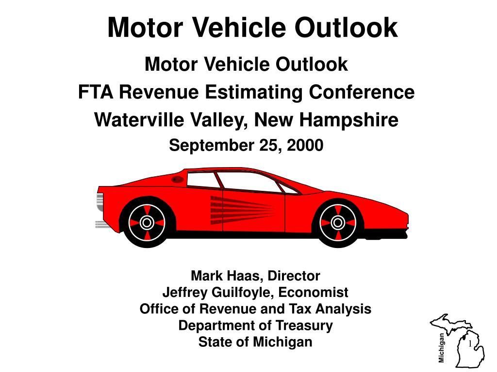 motor vehicle outlook l.