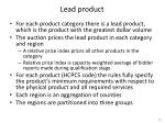 lead product
