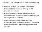 post auction competition motivates quality