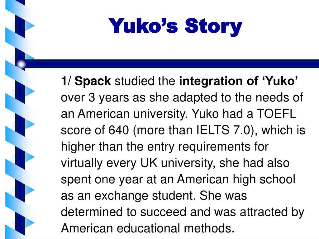 yuko s story l.