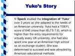 yuko s story
