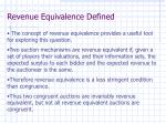 revenue equivalence defined