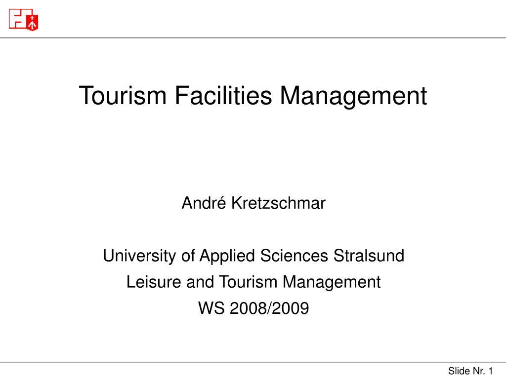 tourism facilities management l.