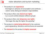 visitor attractions and tourism marketing