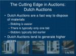 the cutting edge in auctions dutch auctions15