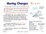 moving charges