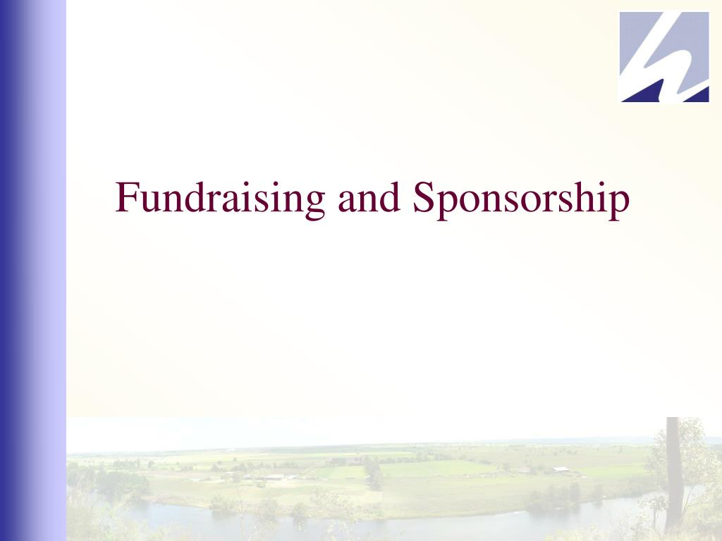 fundraising and sponsorship l.