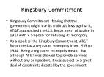 kingsbury commitment