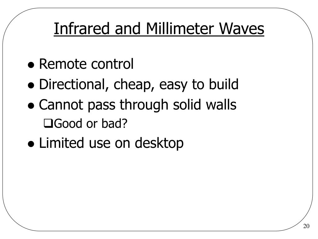 Infrared and Millimeter Waves