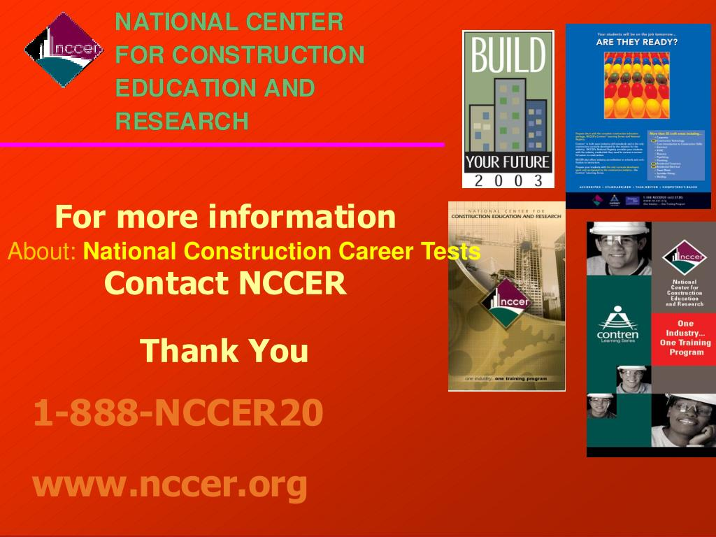 PPT - National Center for Construction Education and