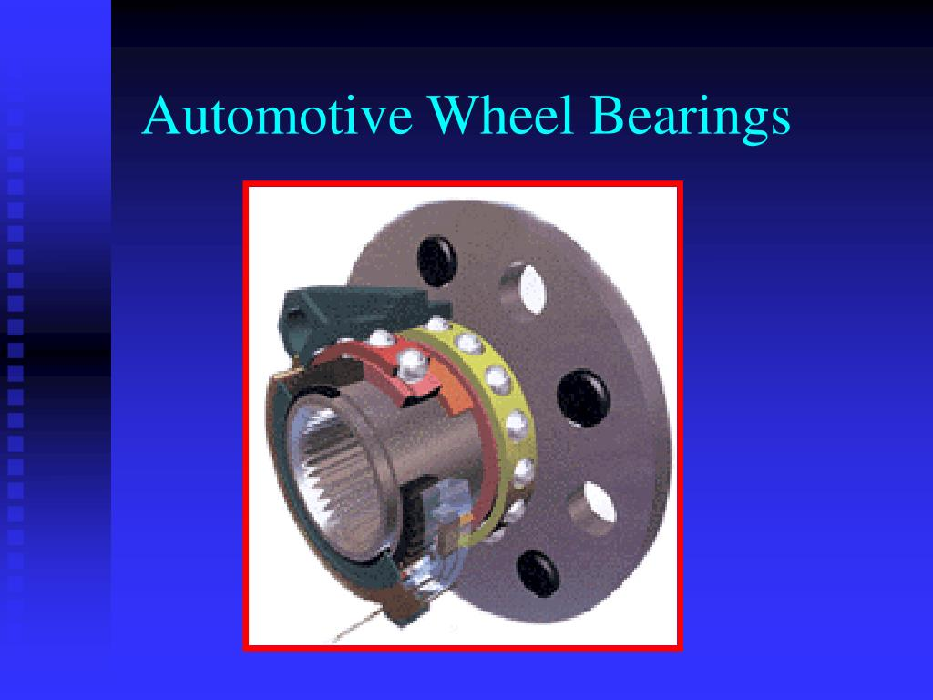 automotive wheel bearings l.
