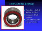 hub cartridge bearings