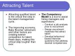 attracting talent