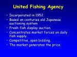 united fishing agency