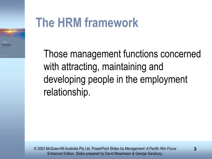 framework human resource management 27 international research journal of finance and economics - issue 36 (2010) human factors are some of the most important soft sides of any corporate management.