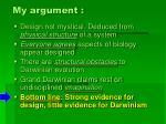 my argument39