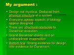 my argument43