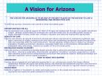 a vision for arizona