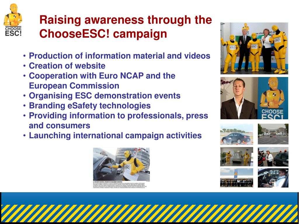 Raising awareness through the ChooseESC! campaign
