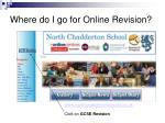 where do i go for online revision