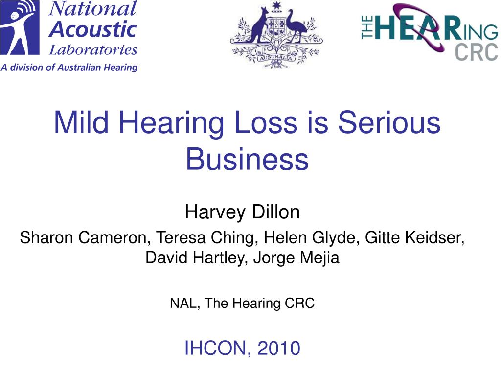 mild hearing loss is serious business l.