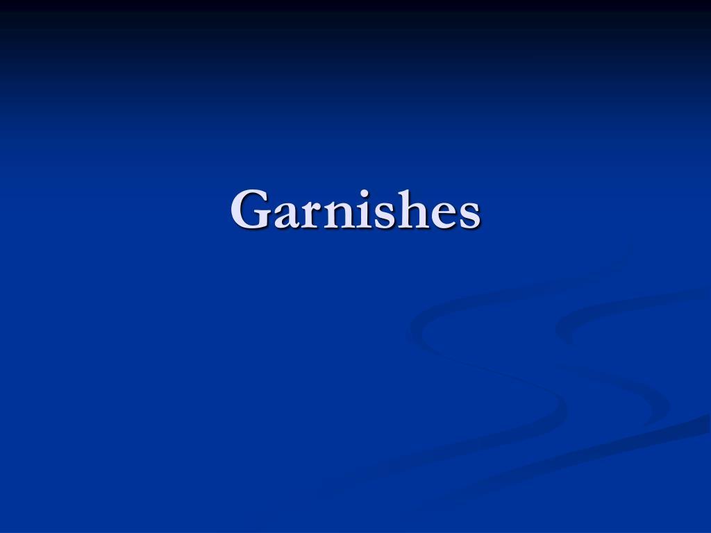 garnishes l.