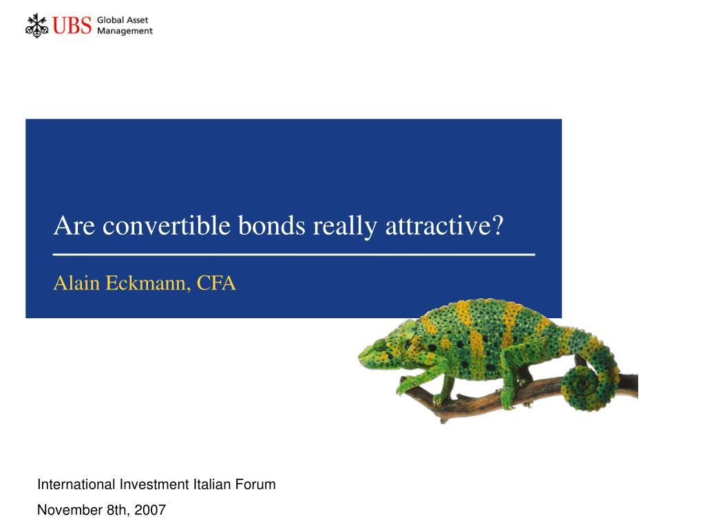 are convertible bonds really attractive l.