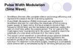 pulse width modulation sine wave