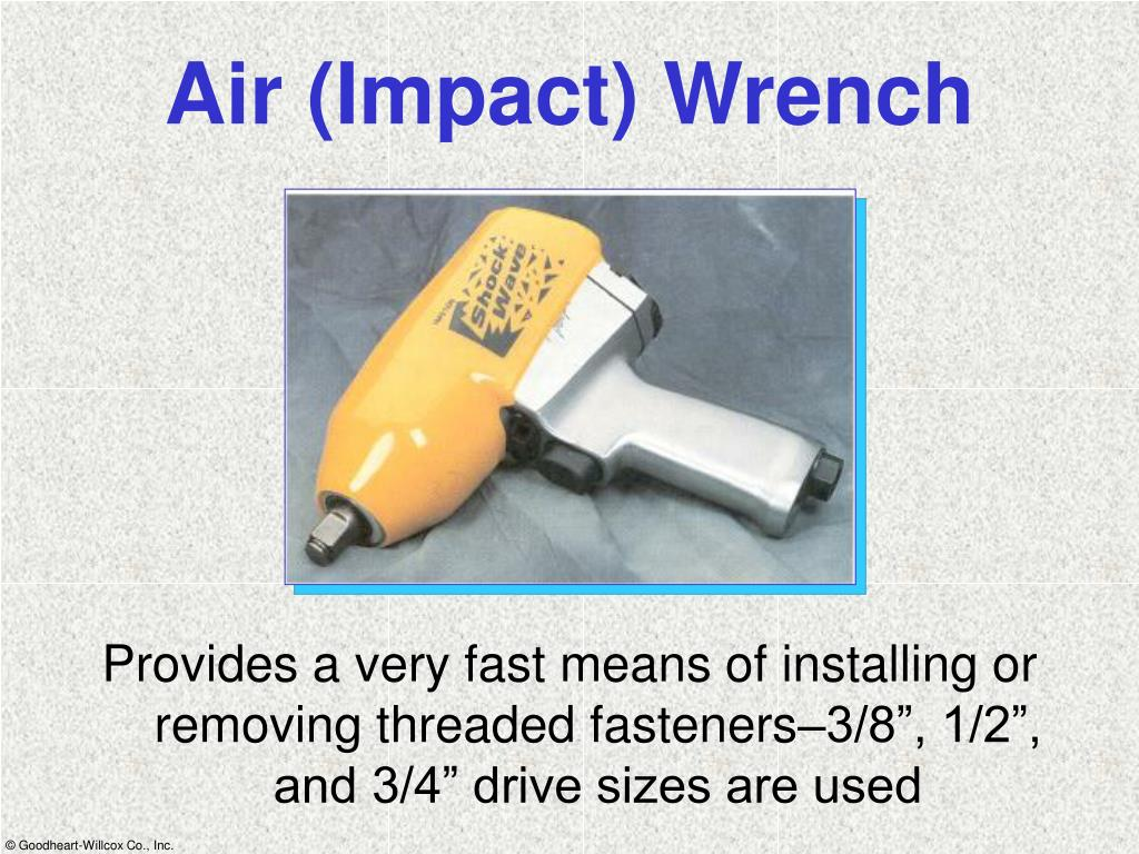 Air (Impact) Wrench