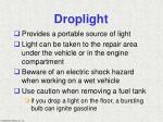 droplight