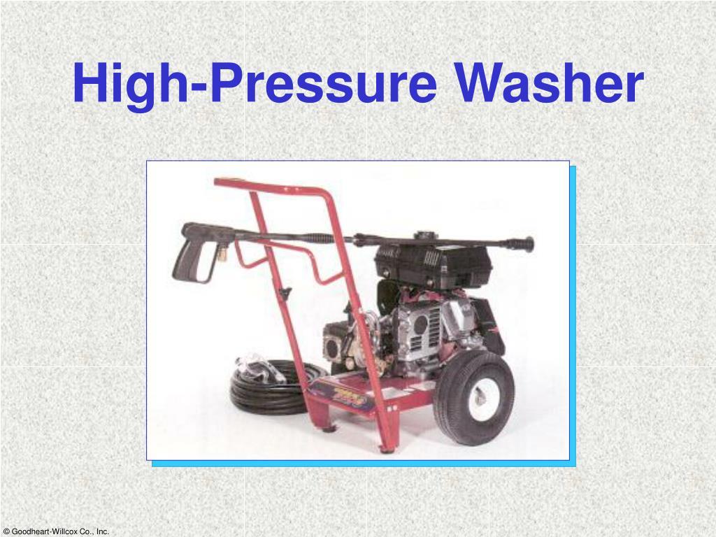 High-Pressure Washer